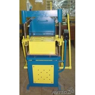 Вибропресс для производства блоков, керамзитоблоков