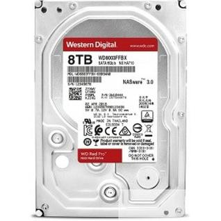 """Western digital 8TB WD Red Pro (WD8003FFBX) Serial ATA III, 7200- rpm, 256Mb, 3.5"""""""