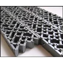 Модульное напольное грязесборное покрытие толщ. 16 мм
