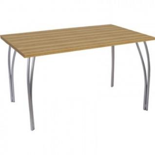 Стол обеденный UD_Степ СТ6-01 опора металл, 1023 дуб горный