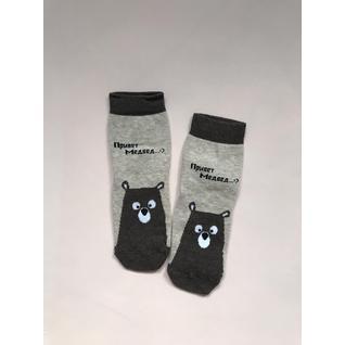 MF215 носки детские медведь бежевый коричневый Mark Formelle (12-18) (22)
