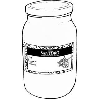 SANTORO Зеленые оливки по бабушкиному рецепту ''Santoro'' 3100 ml