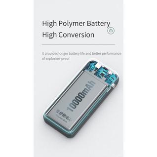 Внешний Аккумулятор Rоскspace P76 Powerbank 10000mAh