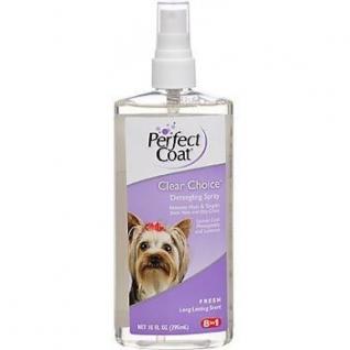 8in1 8in1 средство для собак PC Clear Choice спрей для облегчения расчесывания с ароматом свежести 295 мл