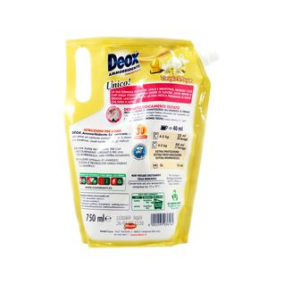 Кондиционер концентрированный (сменный блок) Deox 750 мл ваниль 30 стирок