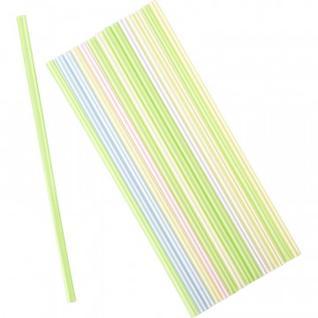 Трубочки для коктейля прямая, неоновая 240мм d=8мм 250шт/уп 401-915