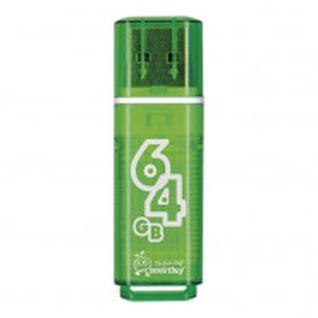 Флеш-память Smartbuy 64GB Glossy series Green