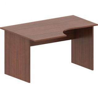 Мебель IN Рондо Стол эргоном. левый СТ3-14L (1) 66орех 1400