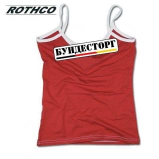 Rothco Майка Rothco женская, цвет красный