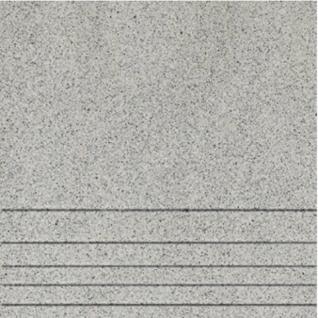 ШП Техногрес Ступень керамогранит 300х300мм серый (14шт=1,26 кв.м.) / ШАХТИНСКАЯ ПЛИТКА Техногрес Ступени керамогранит 300х300х8мм серый (упак. 14шт.=1,26 кв.м.)
