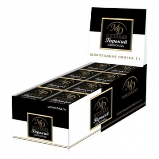 Шоколад Монетный двор Горький 72% 5г/96 шт