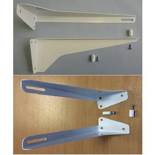 Кронштейн умывальника (стальной порошковая окраска) КСт-210 (комплект) (ПСКОВ) Риф