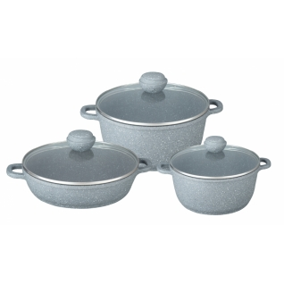 BEKKER Набор посуды 6 предметов Bekker BK-4608