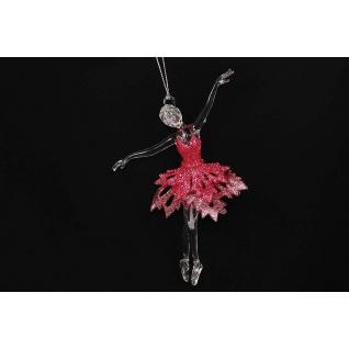 Украшение Балерина, цвет темно-розовый жемчуг