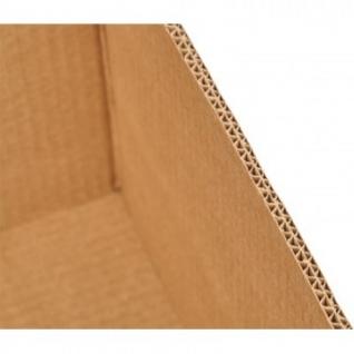 Короб картонный для фруктов 382х355х240мм П-32 бурый 10шт/уп