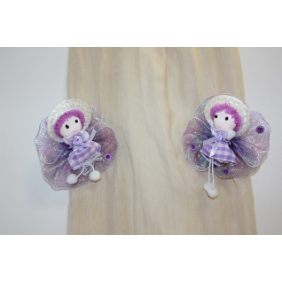 Заколка для штор Luxon Decor Куколка ВН-07