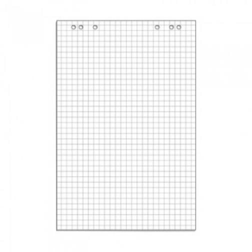 Блок бумаги для флипчартов клетка 67,5х98 50 лист. 80гр. 37850098