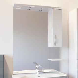 Зеркало Грета 80/1 (Белый) ASB-Woodline