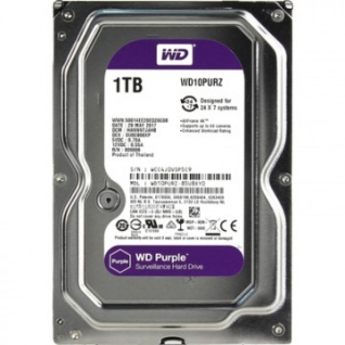 Жесткий диск WD Original SATA-III 1Tb Video Purple (WD10PURZ)