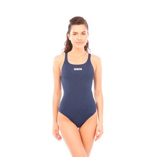 Купальник для плавания совместный Arena Solid Swim Pro Navy/white, 2a242 085 размер 36