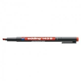 Маркер для глянц.поверх. EDDING E-143/2 B красный 1-3мм перманент