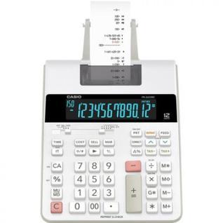 Калькулятор CASIO FR-2650RC с печатающим устройством, 12 разрядов, цв.белый