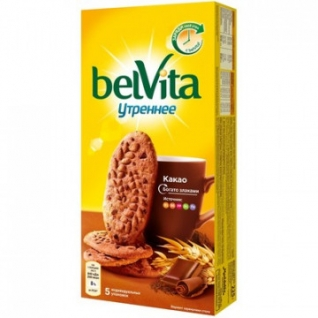 Печенье Утреннее какао, 225г