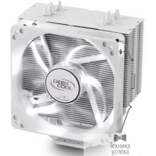 Deepcool Cooler Deepcool GAMMAXX 400 WHITE (LGA2011-V3/2011/1366/1156/55/51/50/775/FM2+/FM2/FM1/AM3+/AM3/AM2+/AM2/AM4 (20шт/кор, TDP 130Вт, PWM, White Led, 4 тепл. трубки прямого контакта ) RET)