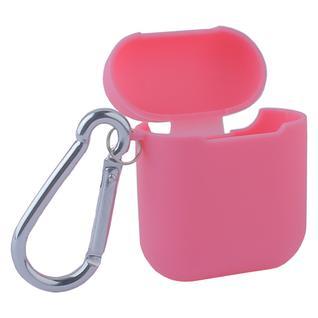Чехол силиконовый COTEetCI (AP3) для AirPods с карабином CS8113-PK TPU Case Розовый