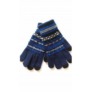 Cariba Перчатки Айфон для сенсорных экранов, цвет синий