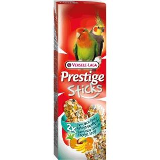 VERSELE-LAGA VERSELE-LAGA палочки для средних попугаев Prestige с экзотическими фруктами 2х70 г