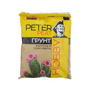 Грунт PETER PEAT Кактусы и суккуленты линия Хобби 2,5 л