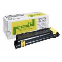 Тонер-картридж TK-590Y желтый для Kyocera FS-C2026 , FS-C2126 , FS-C2526 , FS-C2626 , FS-C5250N , оригинальный 7390-01