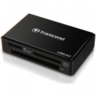 Картридер Transcend TS-RDF8K2 Multi-Card Reader Black USB 3.0
