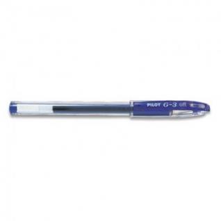 Ручка гелевая PILOT BLN-G3-38 резин.манжет. синяя 0,2мм Япония
