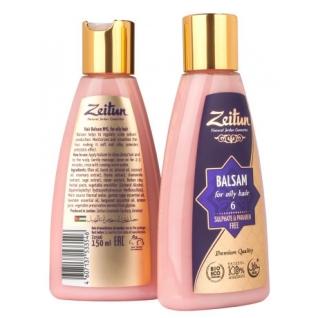 Натуральная косметика - Бальзам Зейтун для жирных волос №6