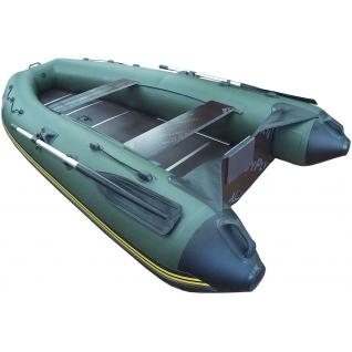 Моторная лодка Морская линия 2+1-320 (салазки, опора, жесткий транец, киль, цельная слань)