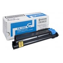 Тонер-картридж TK-590C голубой для KYOCERA FS-C2026 , FS-C2126 , FS-C2526 , FS-C2626 , FS-C5250 , оригинальный 9395-01