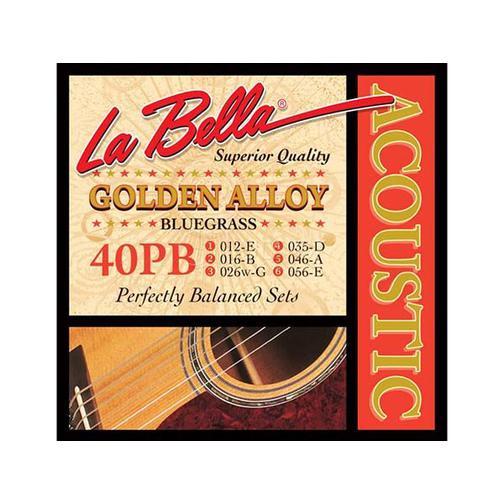 Струны для акустической гитары La Bella 40PB 12-56 36980476