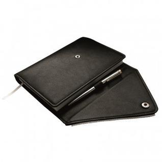 Ежедневник недатированный, черный, А5, 160л., Grunge/AZ493/black