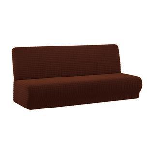Чехол для трехместного дивана ПМ: Ми Текстиль Чехол на трехместный диван без подлокотников жатка