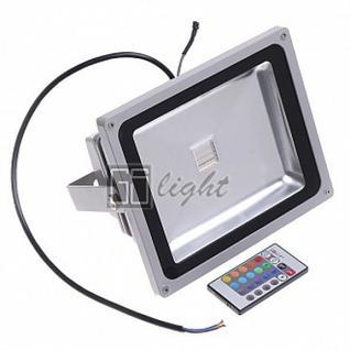 GSlight Светодиодный прожектор 50W IP65 220V RGB