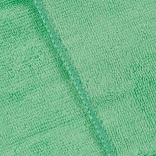 Салфетка хозяйственная универсальн микрофибра 300г/м2 30х30см зеленая Китай