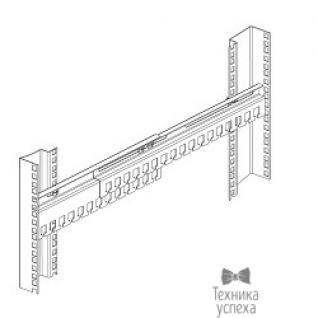 Цмо ЦМО Органайзер кабельный горизонтальный раздвижной 450-1000 мм (ГКО-45-100)