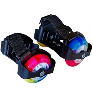 Двухколесные ролики (светятся колеса) Moby Kids