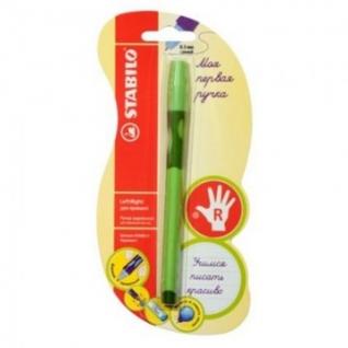 Ручка шариковая STABILO LeftRight д/правш. 6328 0,3мм синий ст. 1шт/бл. (Р)