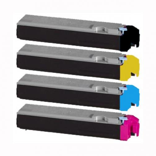 Совместимый тонер-картридж TK-520M для Kyocera Mita FS-C5015N (пурпурный, 4000 стр.) 4526-01 Smart Graphics 851352