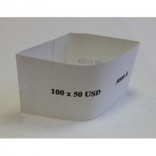 Кольцо бандерольное номинал 50$, 500 шт/уп