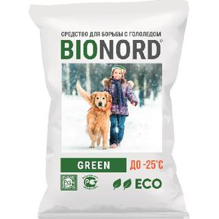 Реагент противогололедный Bionord Green до -25С 23кг