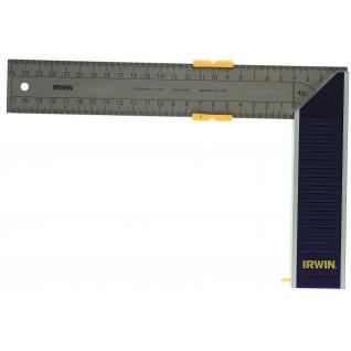 Угольник Irwin алюминиевый с бегунком 250 мм
